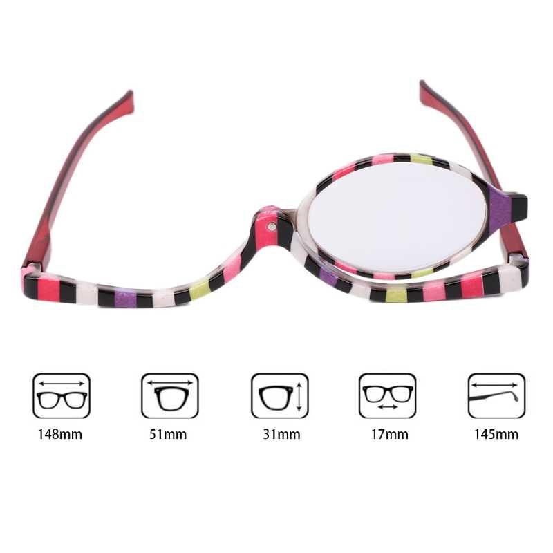 36f9831eb0b Magnifying Glasses Makeup Cosmetic Reading Glass Folding Eyeglasses +1.0~+4.0  W715