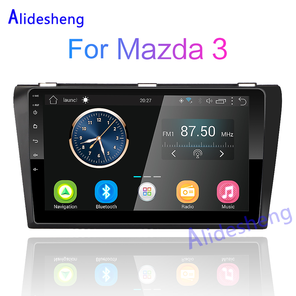2Din Android RAM 2G ROM 32G Car Multimedia Player For Mazda 3 Mazda3 Maxx Axela 2004 2005 2006 2007 2008 2009 Gps Navigation