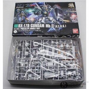 Image 4 - OHS Bandai HGUC 193 1/144 RX 178 Gundam Mk II A.E.U.G. Beleben Mobile Anzug Montage Modell Kits