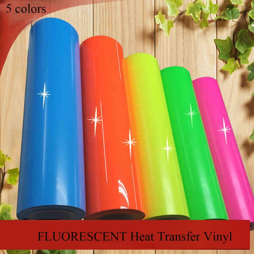 Fluorescent Neon Flex With T Shirt Vinyl Heat