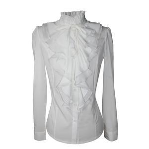 79070bef2decb kaifeiya White Blouses Top Lace Women Shirts Female Chiffon