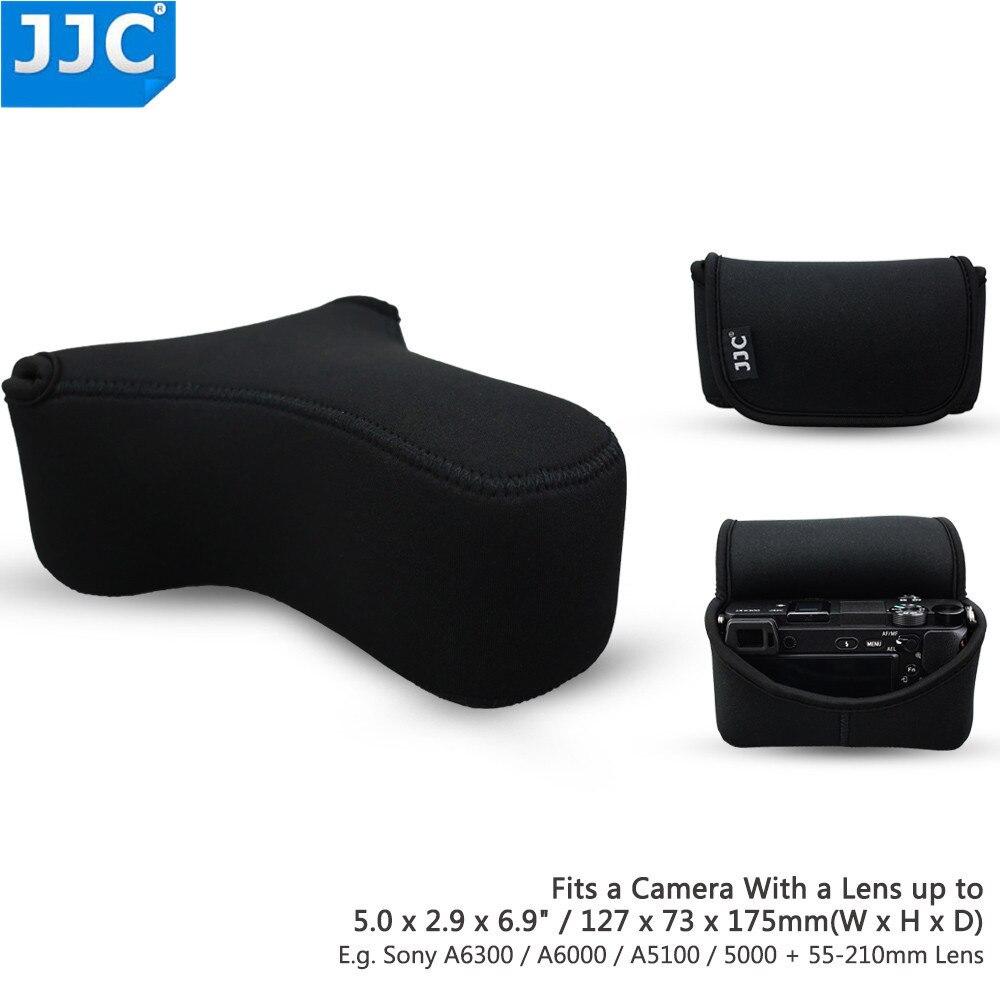 JJC DSLR Cámara foto bolsa caso para Sony A6300/A6000/A5100/A5000/NEX3N/Olympus E-PL7/E-PL6/E-PL5/E-P5/E-PL3 Protector