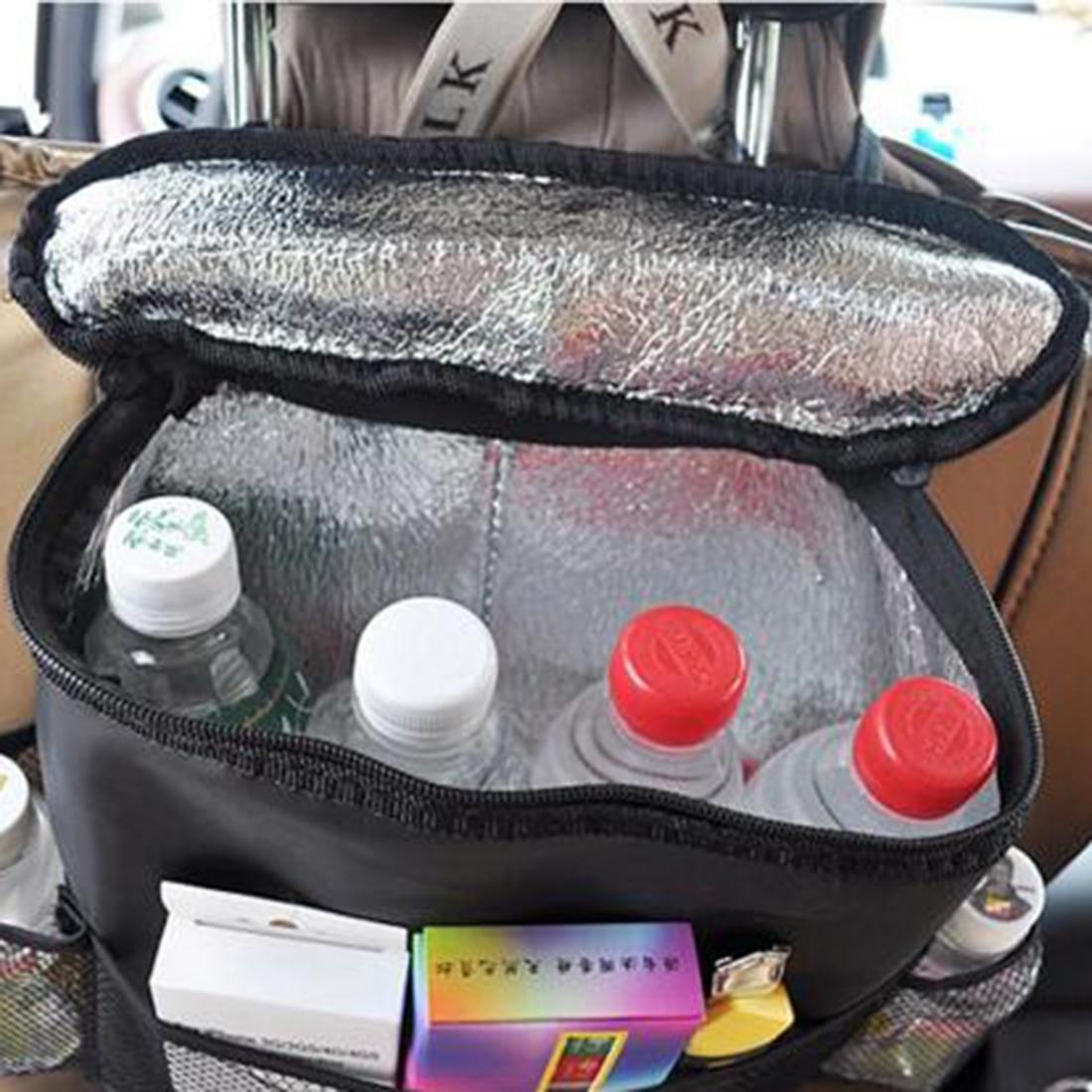 2016 auto car back seat boot organizer trash net holder multi pocket travel storage hanger for. Black Bedroom Furniture Sets. Home Design Ideas