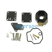 6E0 W0093 00 00 Carburetor Repair Kit For Yamaha 4HP 5HP Outboard Engine Boat Motor aftermarket