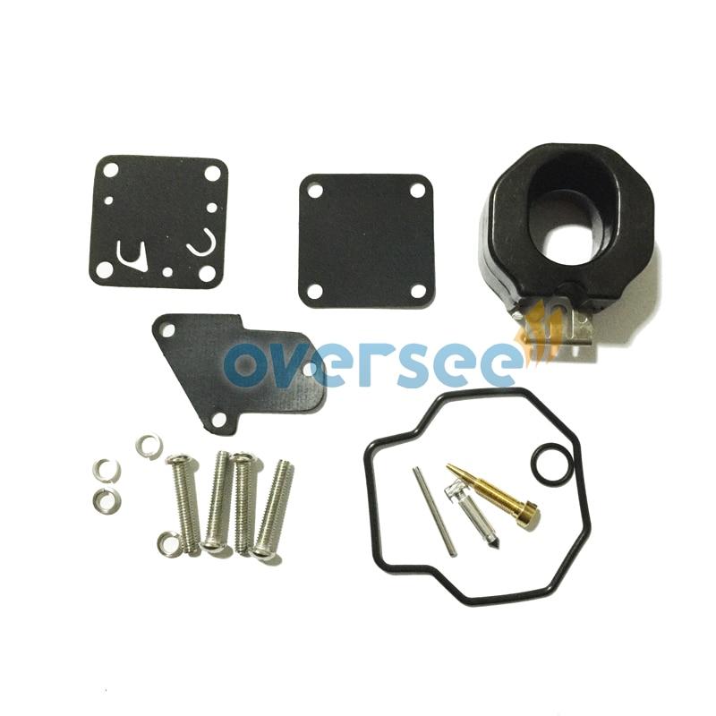 6e0 W0093 00 00 Carburetor Repair Kit For Yamaha 4hp 5hp