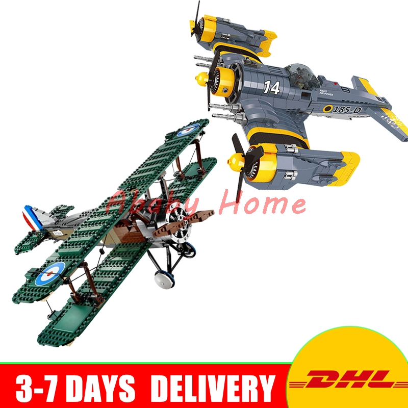 DHL Lepin Technic Fighter Series 21021+ 22021 Education Building Blocks Bricks Model Toys Gifts For Children 21021 953pcs genuine technic series the camel fighter set children educational building blocks bricks toys model 10226 lepin