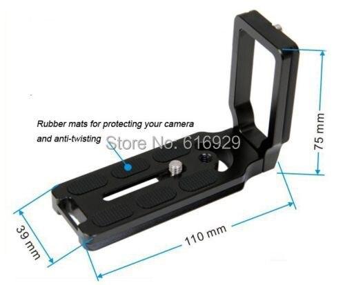 Камера Г-образный быстросъемный кронштейн держатель Поддержка для Nikon D600 D610 корпуса Canon 5DII 5diii 6D 7D Pentax sony Arca Benro