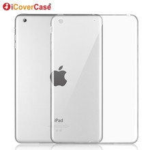 Protector Shell Case For Apple iPad Mini 3 2 1 Silicon Cases Cover Clear Color S
