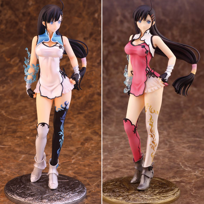 Free Shipping Sexy 10 Blade Arcus from Shining EX Wang Bailong 2P Color Ver. Boxed 25cm PVC Action Figure Collection Model Doll free shipping 6 comics dc superhero shfiguarts batman injustice ver boxed 16cm pvc action figure collection model doll toy