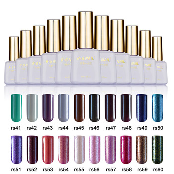 RS Nail Peel Off One Step Gel 60colors #41-60 UVLED Lamp Quick Nail Art Long lasting