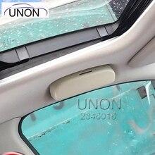ЮНОН футляр для очков Организатор Box солнцезащитные очки держатель для хранения peugeot 208 2008 3008 для Honda hr-v подходит для Civic CRV Accord
