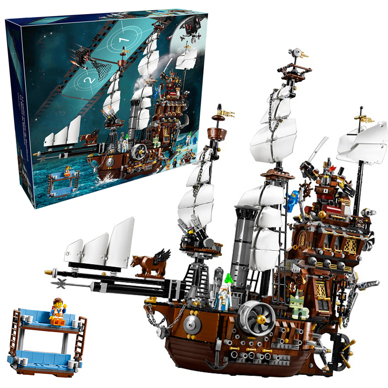 Lepin 16002 MetalBeard's Sea Cow building bricks blocks Toys for children boys Game Model Gift Compatible with Bela Decool 70810 lepin 16002 modular pirate ship metal beard s sea cow building block set bricks kits set toys compatible 70810