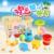 Nova chegada do bebê brinquedos de banho brinquedos de água conjunto verão brinquedos natação brinquedos de banho do bebê para 6 PCS com de