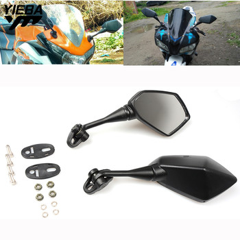 цена на For Yamaha YZF600 YZF R1 R6 R3 R125 R25 R15 2003 2004 2005 2006 2007 2008 2009 Motorcycle Motorbike Mirror Rearview Side Mirror