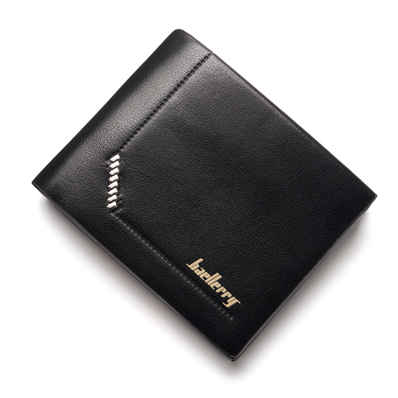 Luxury Brand Men Wallets Short PU Leather Wallets Fold Money Bag Men Clutch Wallet Bag Male Purse Card Holder Carteira Masculia 2017 luxury brand men genuine leather wallet top leather men wallets clutch plaid leather purse carteira masculina phone bag