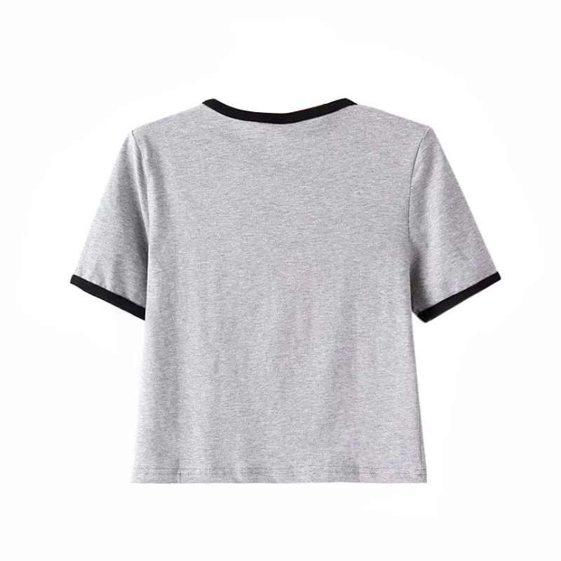 T De Ropa MujeresCamiseta Mujer Camisas Zsiibo Impreso Nvtx10 Camisetas Para MujerPoleras Tops Alienígena Las CQtshrxd