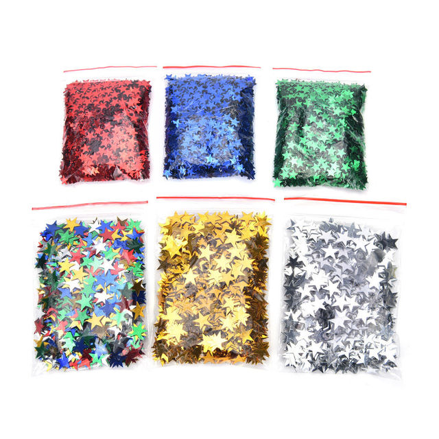 Star Shaped Confetti 1000 pcs/lot