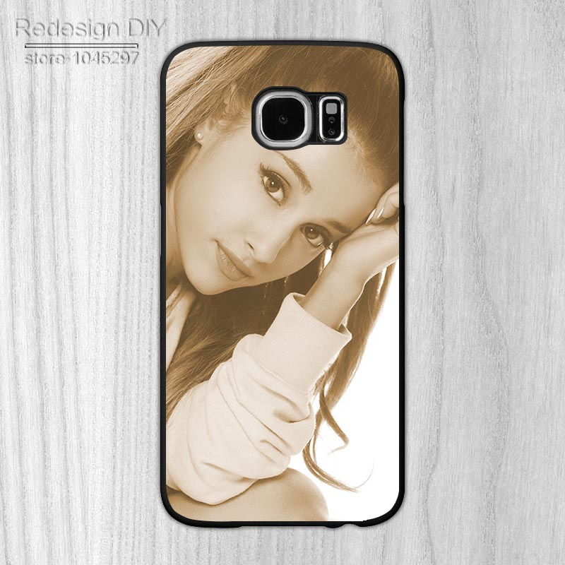 Hot models ariana grande Fashion Design Smartphone Protection Cover for Samsung S3 S4 S5 S6 S6 Edge Note2 Note3 Note4 Note5