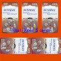 30 x Hearing Aid Batteries A312 312A ZA312 312 PR41 U