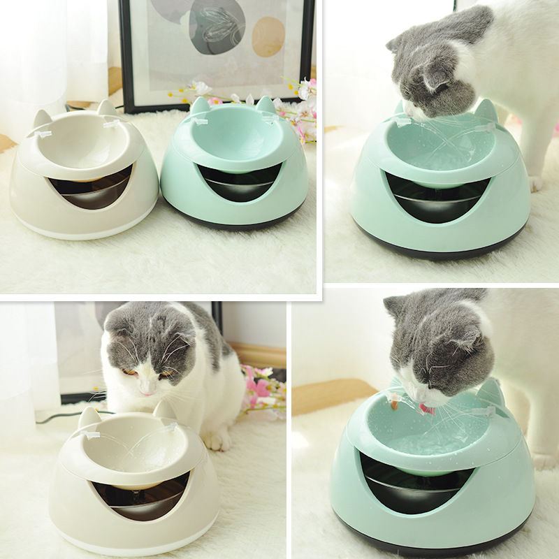 Hot selling cats automatic luminous pet fountain fountain dog USB electric water dispenser cats drinking bowl NumberingHot selling cats automatic luminous pet fountain fountain dog USB electric water dispenser cats drinking bowl Numbering