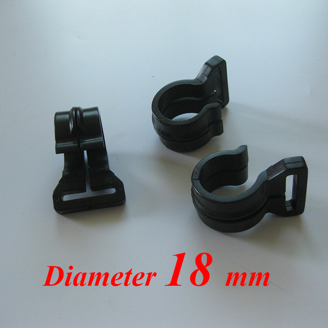 Diameter 18 mm high quality plastic c&ing tent pole hook & Diameter 18 mm high quality plastic camping tent pole hook -in ...