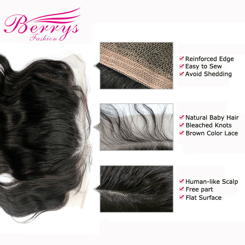 lace frontal 13x6 body wave details