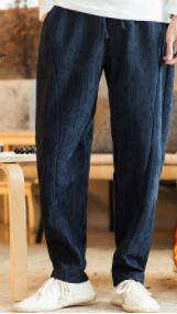 De dd129 Pantalons Droite Pour L'automne Hommes 2 D'hiver 1 Lin Pantalon 3 4 Polaire Et Épaissie ghb 4HBqWTn