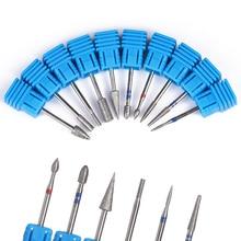 Наждачная дрель для ногтей Шлифовочная пилка для электрической машины Педикюр Маникюр Блокировка шлифовальный бурильщик инструмент для дизайна ногтей