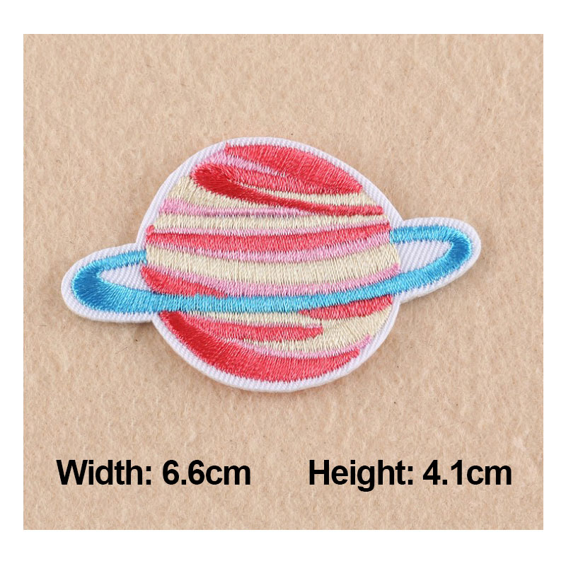 2017 New Summer Patches For Clothing Planet universe Space Starry sky Series Embroidery Patches For Apparel Bag DIY Accessories in Patches from Home Garden