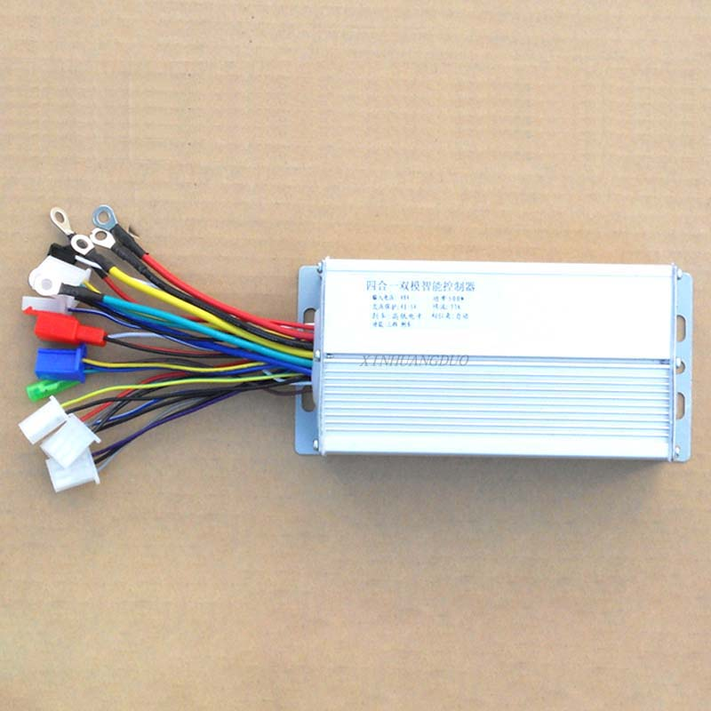 500w Dc 60v 12 Mofset Brushless Controller E-bike Electric Bicycle Speed Controller Bldc Motor Controller E-scooter