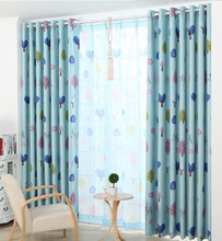 ready made vorhang blackout curtains tree tenda window Curtains for living room bedding