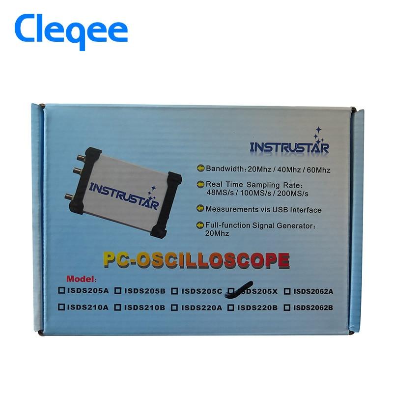 ISDS205X Virtual PC USB osciloscopio Analizador de señal y lógica - Instrumentos de medición - foto 6