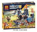 1171 unids 10490 nexus caballeros el fortrex castillo modelo fox axl figuras compatible 70317 ladrillos de bloques de construcción de juguetes educativos