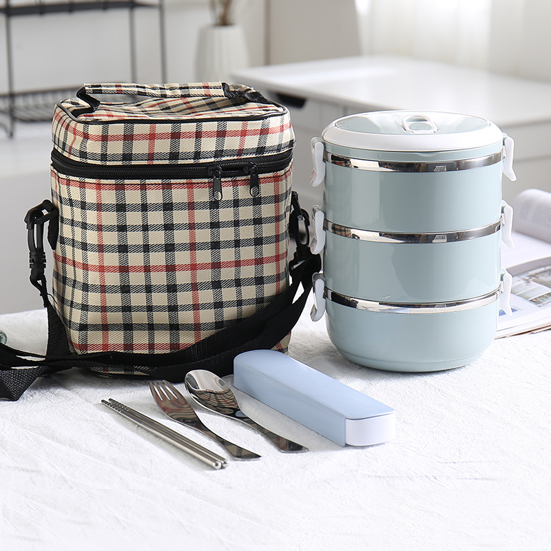 A Kitchen Is Launching An Express Lunch Service: 304 Stainless Steel Food Container Thermos Kid Adult