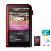 Shanling M2s Case +TF Card Retina HIFI Lossless Portable Music MP3 Player Apt X 4.0 Mini DAP DSD256 AK4490EQ+MUSES8920+TPA6120