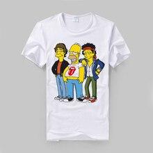 Homer Rolling Stones T Shirt