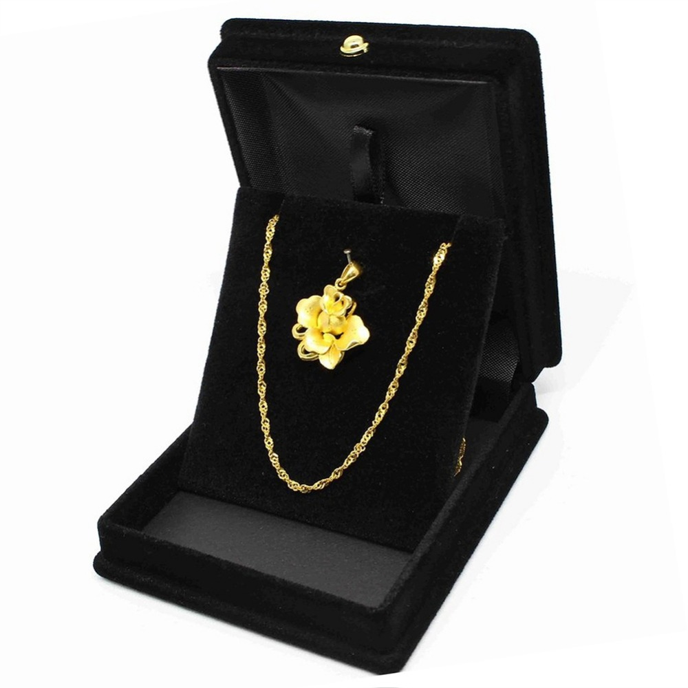 imixlot Simple Fashion Velvet Necklace Ring Earring Bracelet Display Storage Box Rangement Bijoux Gift Case Holder Jewelry Gift