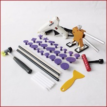 car dent remover puller pdr tools kit auto body paintless repair glue pulling tabs t-puller mini lifter tapdown nylon