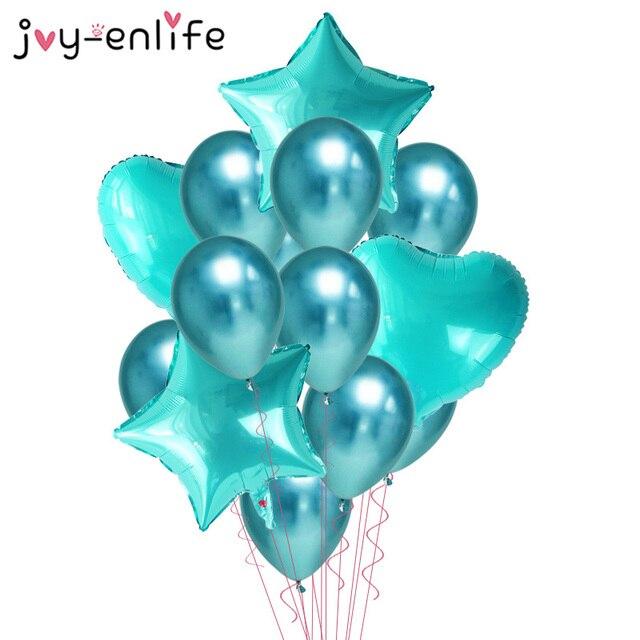 Ballons à Air multi-confetti 14 pièces   Ballons or Rose et hélium pour fête danniversaire, décorations de mariage fête prénatale garçon fille