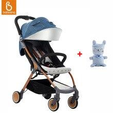 Babysing Lightweight Stroller 1S Fold Portable Traveling Stroller Can Take to Plane & 3D Design Soft Baby Blanket