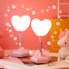 Creative Warm Led Lamp Remote Control USB Charger Heart-shaped Night Light Recording Silicone Light Small Bedroom Lamp youoklight 7w warm white salt lamp heart shaped wall decoration night light 120v 1pc