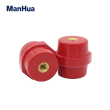 SM-40 Low Voltage Isolator Busbar Electrical Insulators Conical Busbar  Blocks