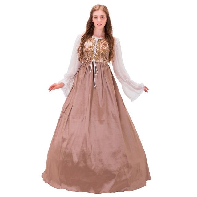 18th Century Civil War Victorian Era Dress Adult Medieval ...
