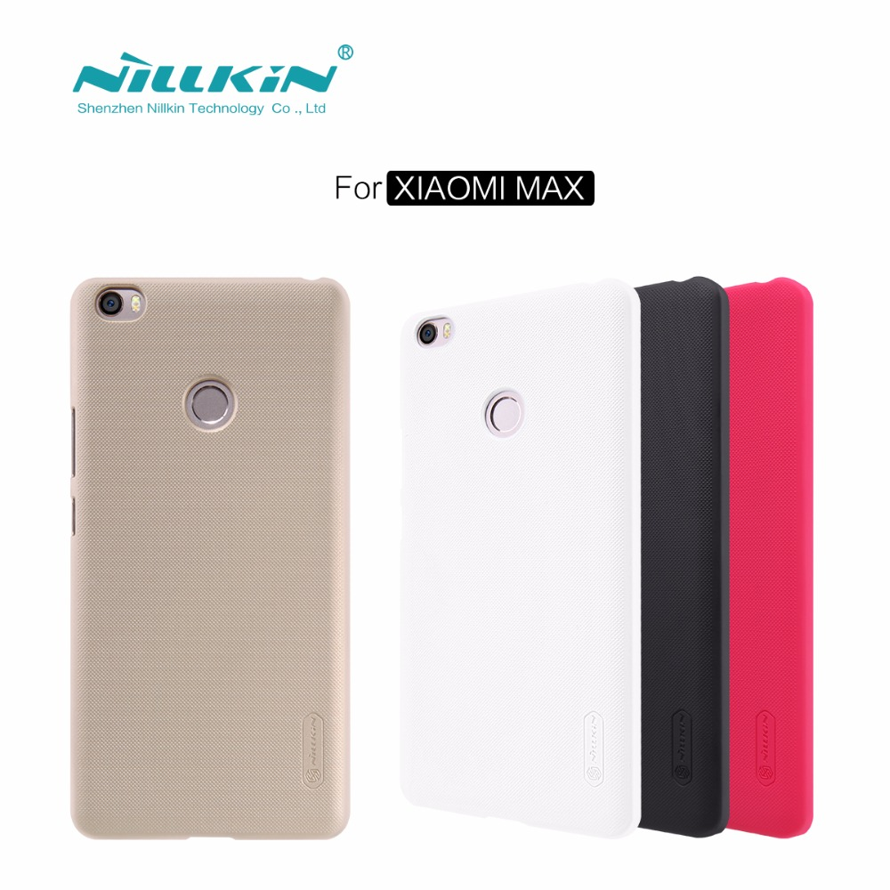 mi max case Nillkin frosted case for xiaomi mi max (6.44'') PC hard plastic back cover Gift Screen Protector free shipping