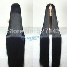Peruca pelo de la reina Venta Caliente H & y05568>>>>> Cosplay Peluca 150 cm de largo Recto peluca de Pelo Negro peluca de Vestuario etapa Televisión