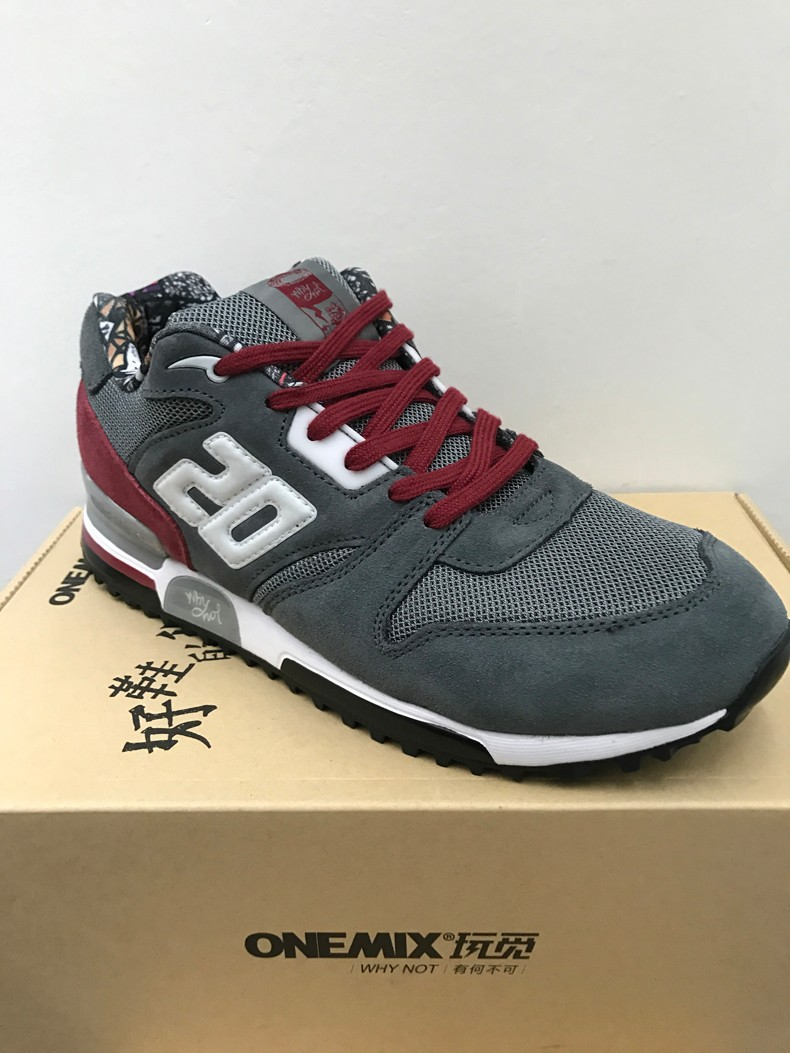 ONEMIX Men Retro 750 Running Shoes Rubber Leather Sport Women Trainers Sneakers Breathable Female Walking Jogging Shoes EU 36-44 33