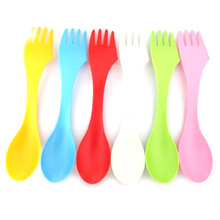6 piece 3-in-1 Baby Cutlery Set