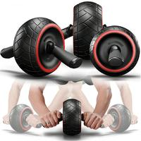 Fitness No Noise Abdominal Wheel Round Wheel Exerciser Core Waist Arm Strength Exercise Fitness Gym Equipment training apparatus