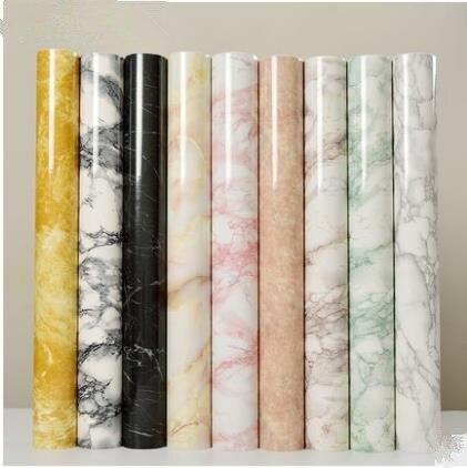 Furniture foil renovation paper Self-adhesive paint wardrobe cupboard door kitchen stove wall waterproof