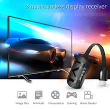 Black MiraScreen G4 TV Stick Dongle Anycast Cast HDMI WiFi Display Receiver Miracast Google Chromecast 2 Mini PC Android